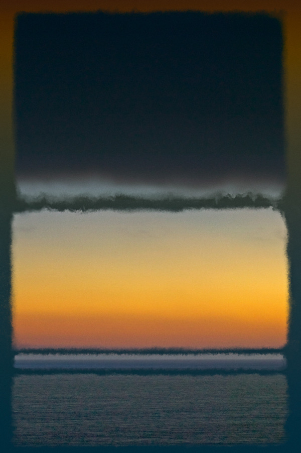 likeafieldmouse:  Richard Ehrlich - Homage to Rothko: Malibu Series (2012)  Fueling my Rothko obsession
