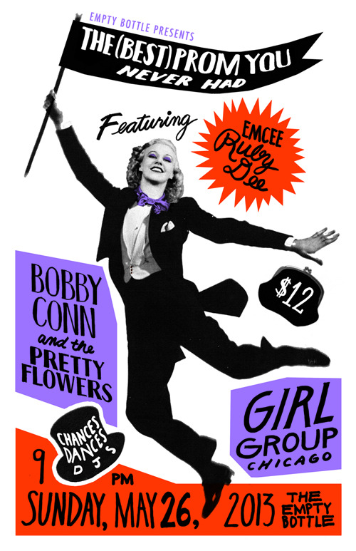 I'll be playing with both Bobby Conn and Girl Group! Info.