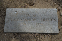 Gravesite - Duke Ellington - Woodlawn Cemetery - Bronx, NY photo (c) Alan Strauber (all rights reserved) 4.28.13