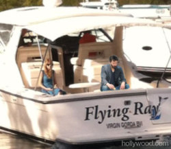 We thought sad Taylor Swift on a boat some use some company post-split with Harry Styles, so we gave her a friend: http://bit.ly/UGWdrQ