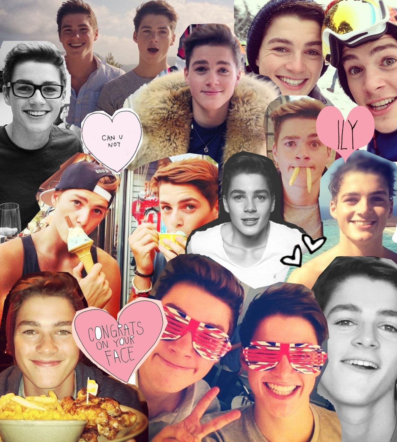 volar-e:  my jack & finn collage ❤❤❤❤