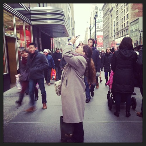 #nyc #tourist my mother