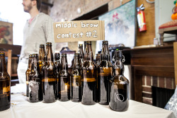 MIDDLE BROW BREWING — HUMILITY IN THE MAKING Middle Brow Brewing isn't trying to big-time it. In fact, they're specifically keeping things modest.