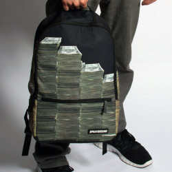 blua:  Money Stacks Backpack - Available Here