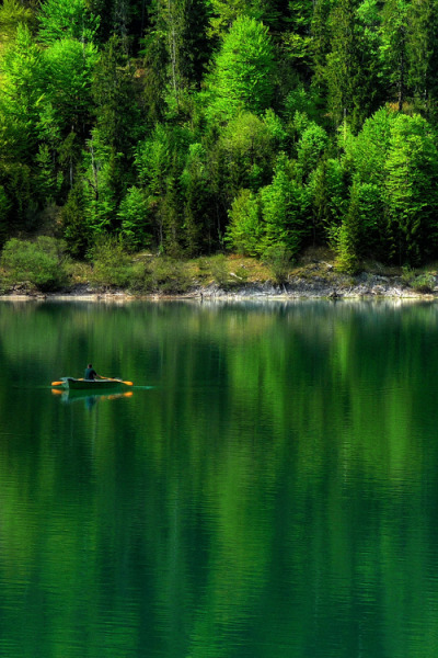 vurtual:  Green Sea (by Claude@Munich)Lake Sylvenstein