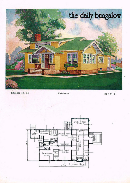 The daily bungalow for Jordan built homes floor plans