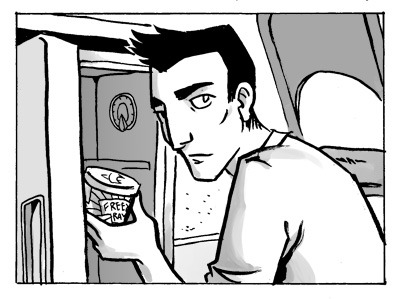 Friday update! Patrick is jonesing for some Freeze Ray ice cream, read here!