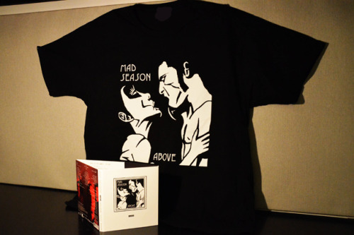 Diffuser.fm: Win a Mad Season T-shirt and Above: Deluxe Edition CD/DVD set