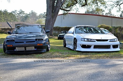 tunerelite:  A lazy piggie and a kouki monsta!