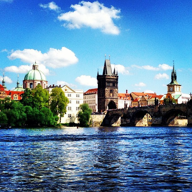 Well hello Prague #eurotrip #blessed #czechrepublic #scenery