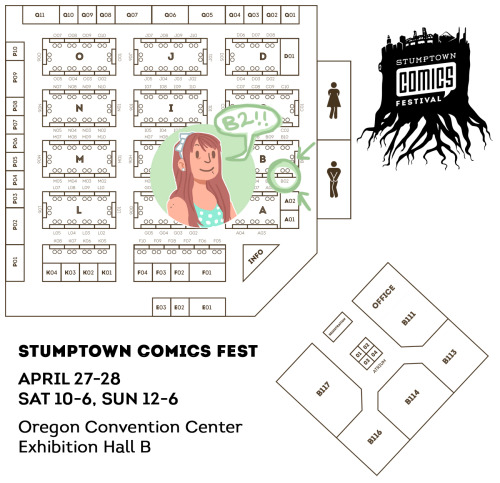 It's that time of year again. Stumptown Comics Fest time! This weekend! This year I'll be at table B02, along with Jimmy. If you're in the Portland area, please come say hello! Ask me about Golden Nights, or lets chat about comics and stuff. I'd love to see you all!I'll have the comic I've been working on with Dan Tabayoyon (Red Sky) as well as some smaller versions of the Golden Nights posters, a few other prints, and some buttons and other little goodies. I'll be doing sketch commissions at the show as well.Looking forward to seeing you!