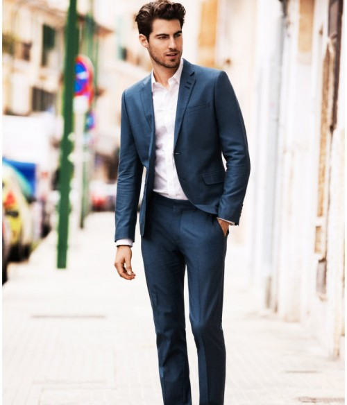 mugenstyle:  How to wear a suit for spring