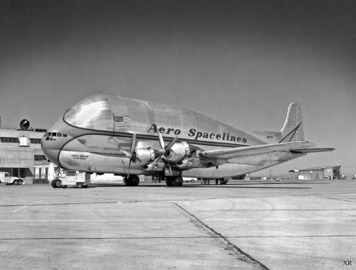1962 … the 'Pregnant Guppy'! (by x-ray delta one) …Aero Spacelines Pregnant Guppy was a large, wide-bodied cargo aircraft built in the United States and used for ferrying outsized cargo items, most notably NASA's components of the Apollo moon program…