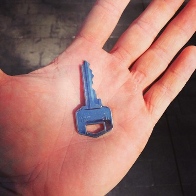 Just picked up the key to my new place! #moving #key #bulkBusy #onlyOnceEvery3Years (at South Windsor)