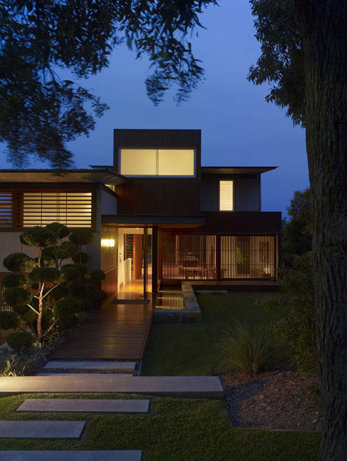 wamberal house | entry ~ virginia kerridge architect