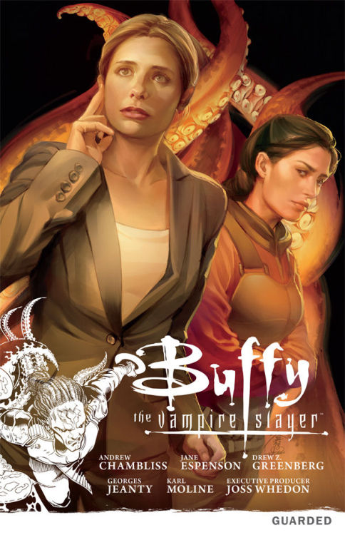 whedonesque:  Out this week - Buffy Season 9 Volume 3 'Guarded' tpb