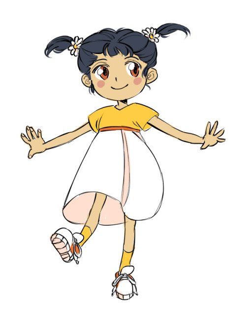 hello i have drawn a small child