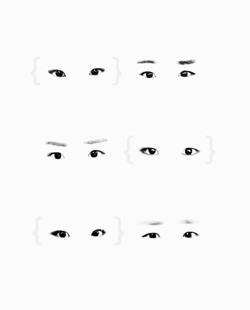 Kim Himchan's eyes