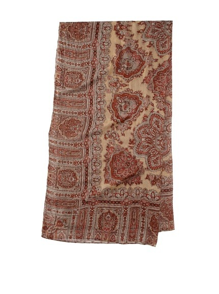 there are few theodora & callum scarves on sale at myhabit.com  the one above is $49 … i can't justify spending over a $100 on a scarf so this seems like a good deal …  hurry before they sell out!