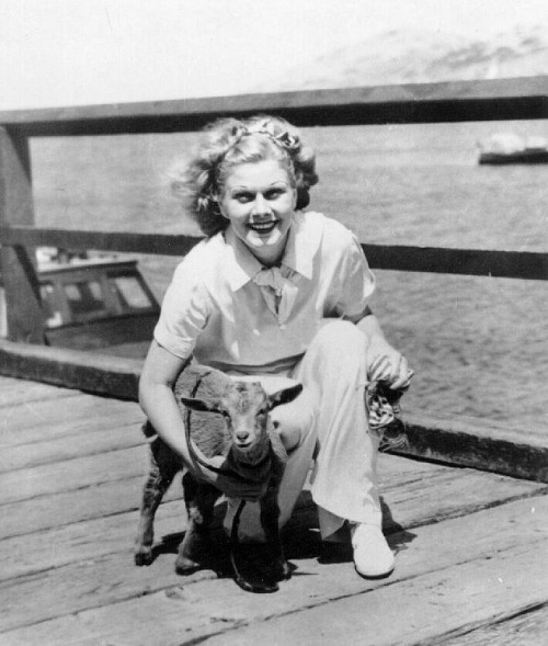fuckyeahjeanharlow:  Baby had a little lamb…