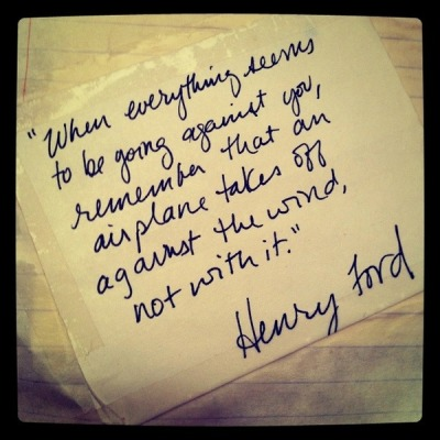 Good call Henry Ford!