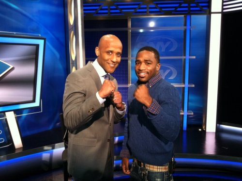 @BCusterSNY: Look who's in @The_wheelhouse at 5:30pm, it's @GoldenBoyBoxing WBC &WBO Ltweight champ @AdrienBroner.