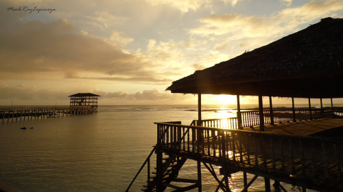 waking up to the breathtaking Siargao sunrise