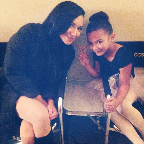 ‏@NayaRivera First Instagram post goes to the lil Santana! http://instagram.com/p/Xc8Mpqk1xx/