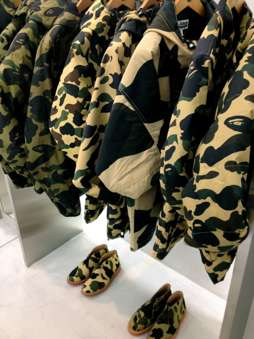 thesplashlife:  bape store in toyko