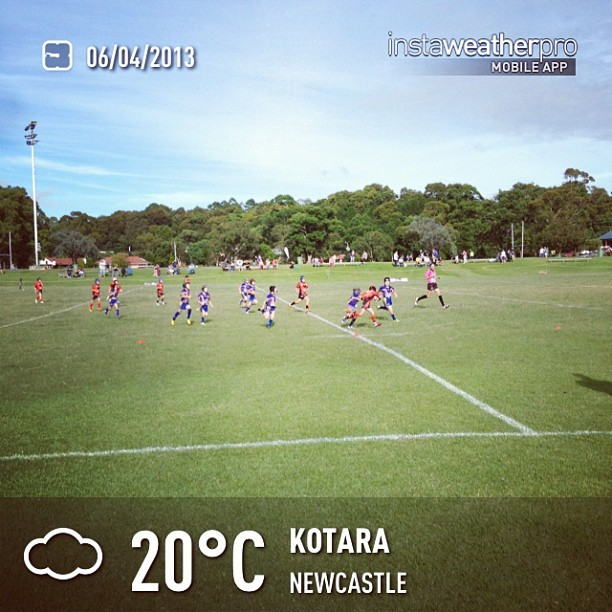 Wangi Warriors play Kotara.  (at Kotara)