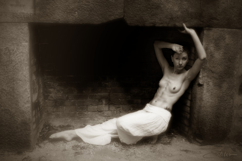 'Partially Nude Fireplace' with Apryl SC…by Kevin Stiles.