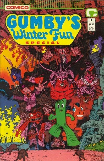 If you haven't read all the Gumby comics by Bob Burden, Art Adams, Rick Geary, and Steve Purcell, then you haven't read the best comics of all time.