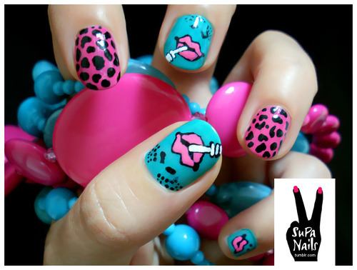 SuPa Nails on We Heart It. http://weheartit.com/entry/4324818/via/pryestrela