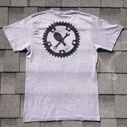 Who else wants a chicken hawk t-shirt?? You don't need to ride a bike to wear this! Help support #chickenhawkcourier, by buying a tee and helping us raise money to get a cargo bike!  (at Chicken Hawk HQ)