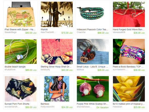 Check out our Sunset Pom Pom Shorts on BellaMoon's Etsy treasury list!