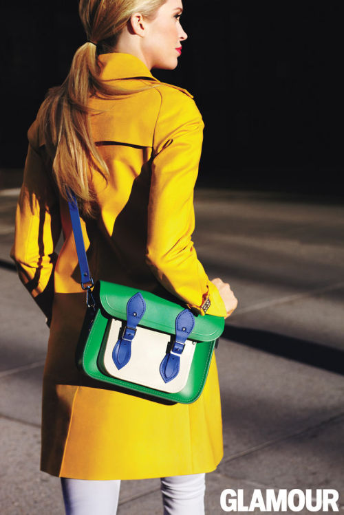 Behold the Cambridge Satchel for Glamour bag (a.k.a. the statement accessory of your dreams!) $160, exclusively at cambridgesatchel.co.uk