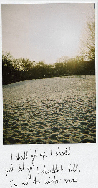 incked:  winter snow by Cassandrea- on Flickr.
