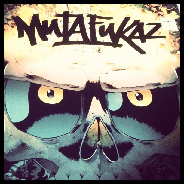 #mutafukaz #run #619 #comics