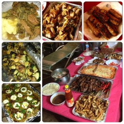 Food for frikkin days!!! #foodcoma #filipinofood