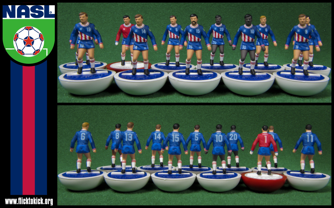 A Subbuteo set of NASL All-Stars? That seems right up our alley…  From: http://www.flicktokick.org/