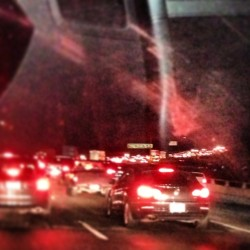 What. The. Fuck. #traffic #stopped #killme #dying #sleepy #iwannabehome #57south  (at 57 South 🚙)