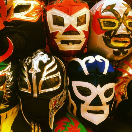 Lucha Libre on Olvera Street. Who will be unmasked?