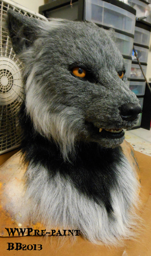 realfursuits:  This head will be for sale soon too, so keep an eye out. :) Edit: Its been finished and sold. Super fast.