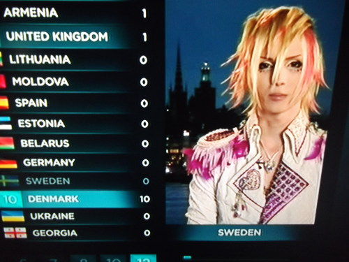 thatfuckingcrowv2:  what tekken game is this  Isn't this for Eurovision? Which I missed again…