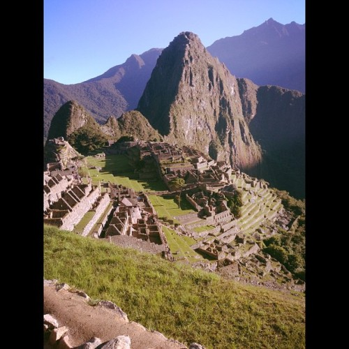 #machupicchu we had a beautiful day!! Thank you :) (at machu picchu peru)