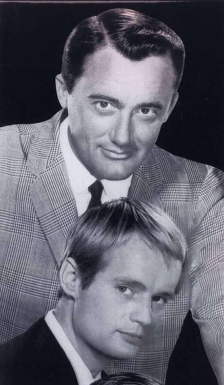 """September 22 Where did the time go? On this date 50 years ago, NBC premiered its fun and sexy espionage series """"The Man from U.N.C.L.E,"""" starring Robert Vaughn as agents Napoleon Solo and David McCallum as Illya Kuryakin and Leo G. Carroll as their boss, Alexander Waverly. Vaughn and McCallum became instant sex symbols. The series continued until January 15, 1968. Photo courtesy of MGM/UA."""