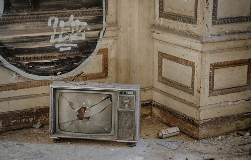 abandonedusa:  Lee Plaza HotelDetroit, Michigan  Gorgeous!