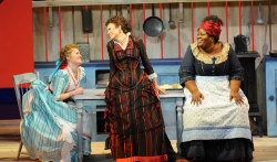Ashley Brown, Alyson Cambridge, Angela Renee Simpson, SHOW BOAT - c. Robert Kusel/Lyric Opera of Chicago