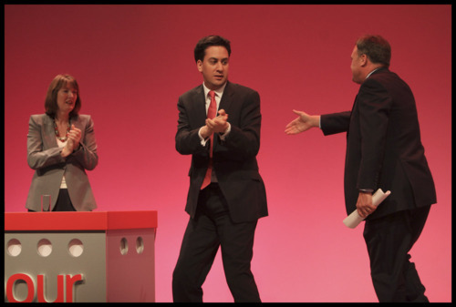 Reacting like a Ninja to Ed Balls display of human kindness, Ed could sense it was a trap.