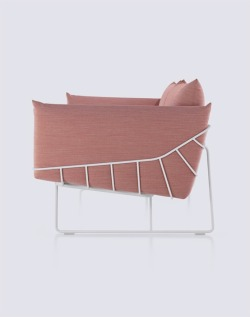 beatpie:  Picnic Sofa, Industrial Facility, Herman Miller, 2012.
